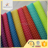95 polyester 5 spandex blending stretch dobby yarn dyed knitting fabric for underwear