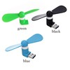 Small Handheld Low Watt Outdoor Clip Air Cooling Micro Portable Phone Fan Mini USB Fans