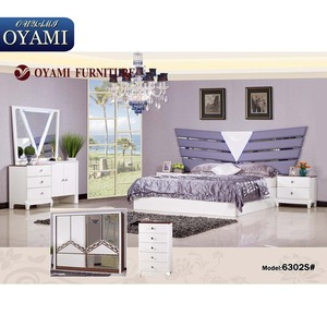 Fancy Contemporary canopy bedroom furniture set