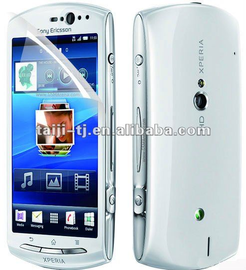 WHOLESALE clear screen protector for Sony Ericsson Xperia-neo-v