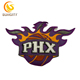 Custom Design Patch For NBA Baskeball Series PHX Phoenix Embroidery Patch