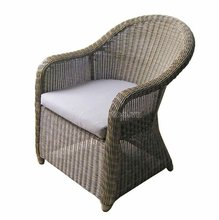 2012 Outdoor PE Wicker Single Chair/ Poly Chair/ Garden chair