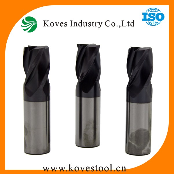 Trade Assurance TiCN Coating HSS Ball Nose Carbide End Mills