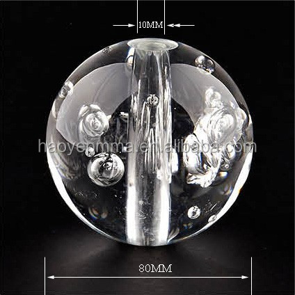 Plexiglass Hollow Transparent Clear Plastic Sphere Bubble Acrylic Ball with hole