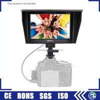 Viltrox DC70II full hd screen dslr camera small size mini 7 inch tft lcd monitor with av input