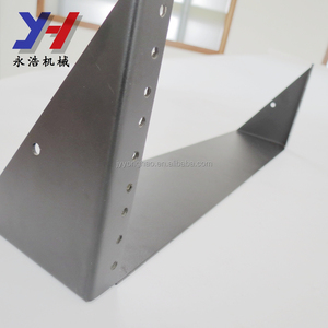 OEM ODM factory manufacture SGS ISO ROHS reinforced material surface sandblasting electrical equipment bracket as your drawing