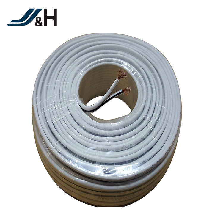 Ofc Transparent Flexible Speaker Cable,2 Core Pvc Insulation Gold Or ...