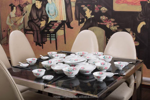 State leaders use fine porcelain dinner set 56pcs
