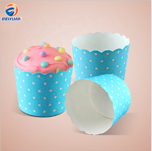 Cake Cup Muffin Cup Cake Paper Holder Machine Made High Temperature Resistance