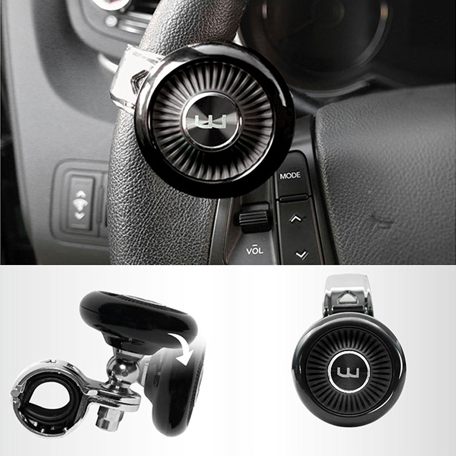 Automobiles & Motorcycles Buy Cheap Stainless Steel Steering Wheel Spinner Heavy Duty Car Truck Marine Boat Handle Suicide Power Knob Attractive Fashion