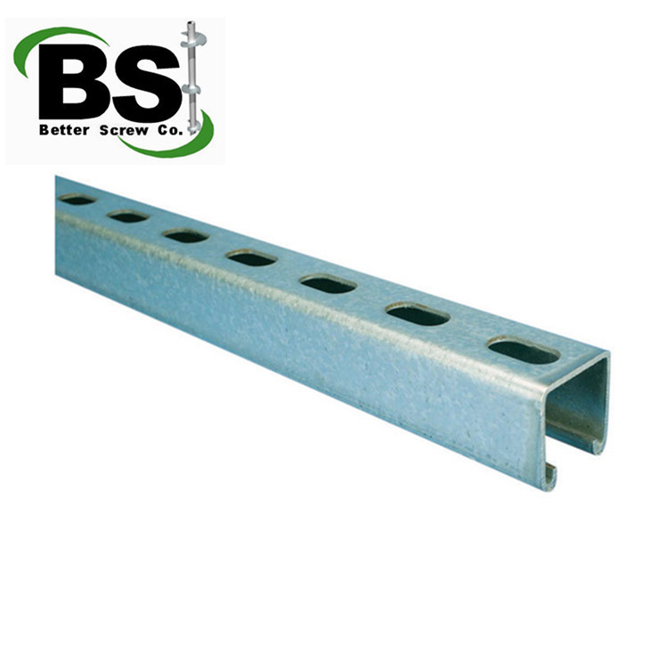 Strut Channels for railway | post | steel structure | construction | Warehouse/ factory wall
