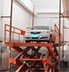Car/Automotive Scissor Lift Platform used in Home