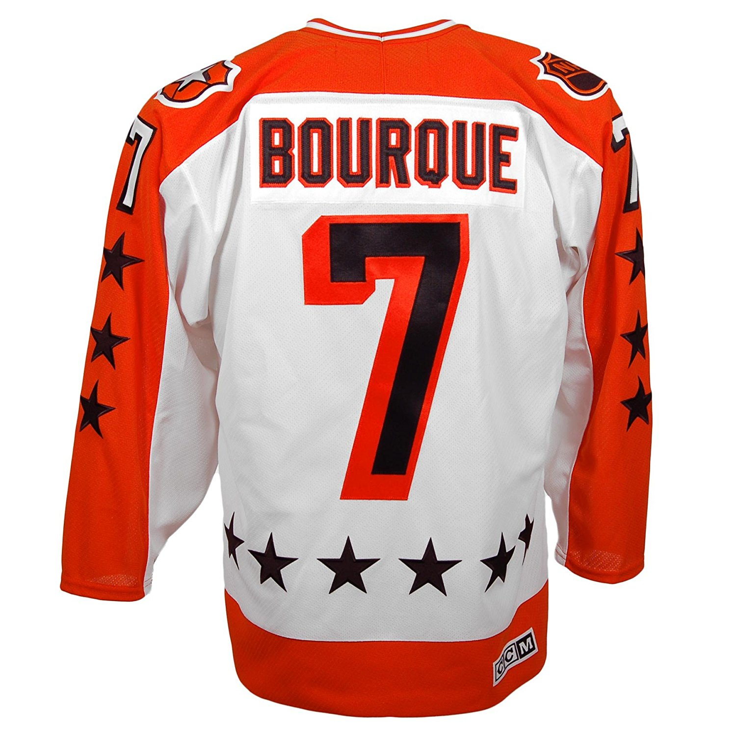 Raymond Bourque Wales Conference All-Star Vintage Replica Jersey... Featuring Hand-Stitched Pro Twill Name & Number