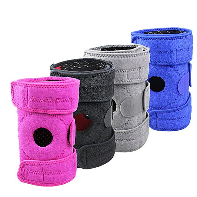 sport wear knee support/sports neoprene knee brace/sports knee wrap, Black;blue;pink;gray