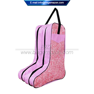 OEM Factory Portable PU Leather Travel Boot Storage Bag
