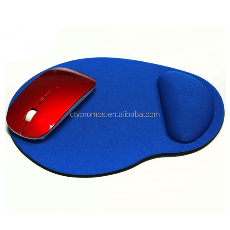 Multi Color Customized Logo Eva Mouse Pad With Wrist Rest Support