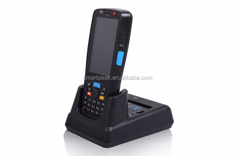 Android qr 1D barcode scanner/reader with touch sceen WIFI GPS bluetooth NFC/RFID/memory for education/Commercial Parking Lots