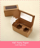 Craft Muffin Box 2 Pcs Pack Birthday Party Party time
