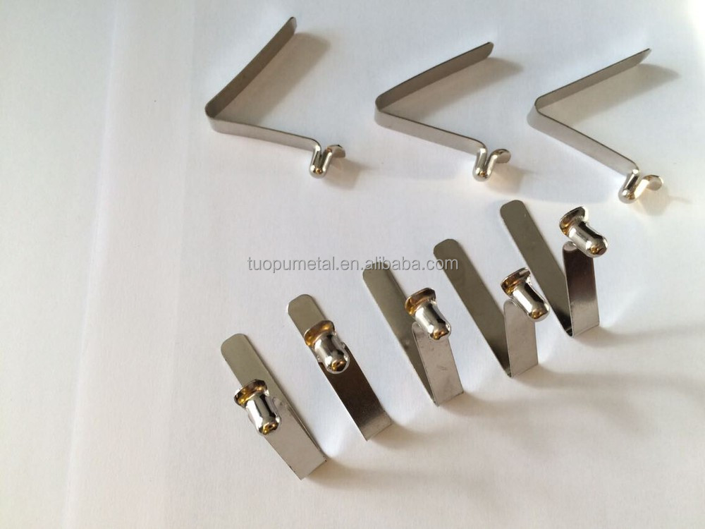 china supplies metal spring clips clamps flat metal spring clip flat
