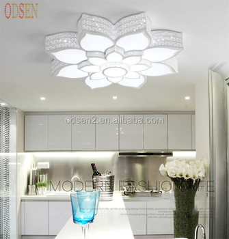 Fancy Lotus Flower Ceiling Light 75W Mounted LED Light Fittings