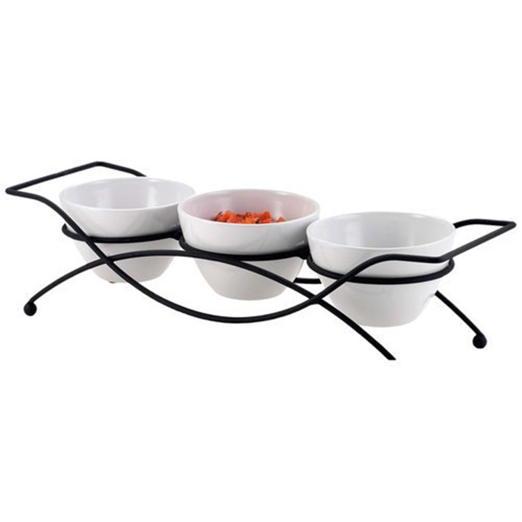Italain style  fancy tapas serving decor small mini ceramic dish