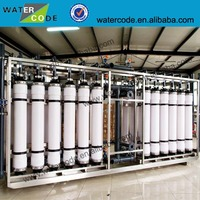 Hollow fiber ultra filtration filter membrane for drinking water and waste water