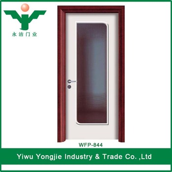 Simple Comfortable Exterior Pvc Louvered Doors Glass Insert Frosted Glass  Pvc Kitchen Cabinet Doors - Buy Pvc Door,Glass Insert Frosted Glass Pvc ...