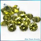 High quality cz stones round shape 6mm 8mm grade AAAAA loose cubic zirconia birthstones