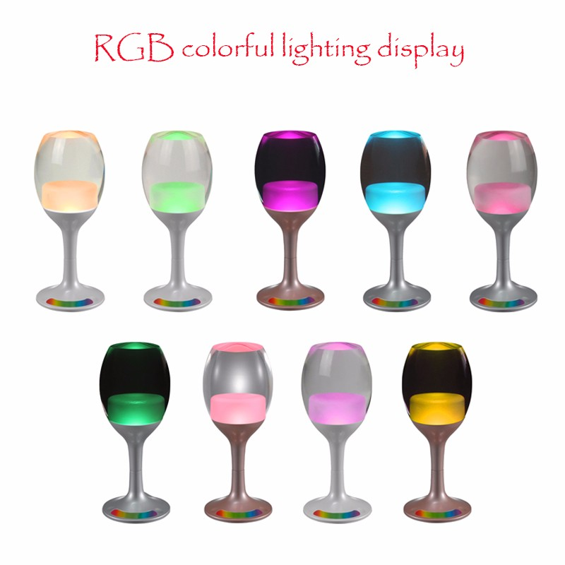 NEW Creative promotion modern LED Wineglass Light lamp for bedroom