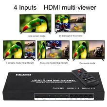 Hdmi 4x1 quad splitter/multiviewer
