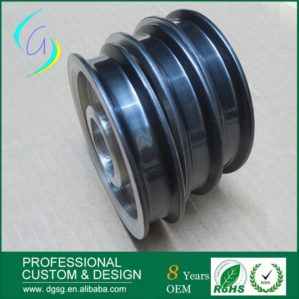 Hot selling V/U/Flat Groove Ceramic Coating Wire Winding Pulley