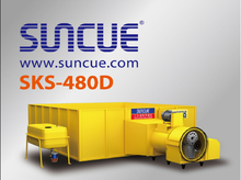 SUNCUE small Grain Dryer SKS-480 corn (rice, maize, corn seed dryer)