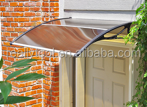 16m Diy Window Door Awning Canopy Patio Uv Rain Cover Outdoor Sun Shield