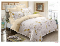 Duvet Cover Set cheap Microfiber feather printed 4pcs bedding set