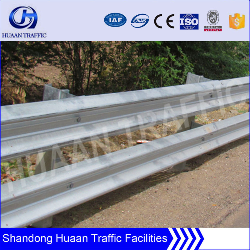 plastic traffic barricade used in highway