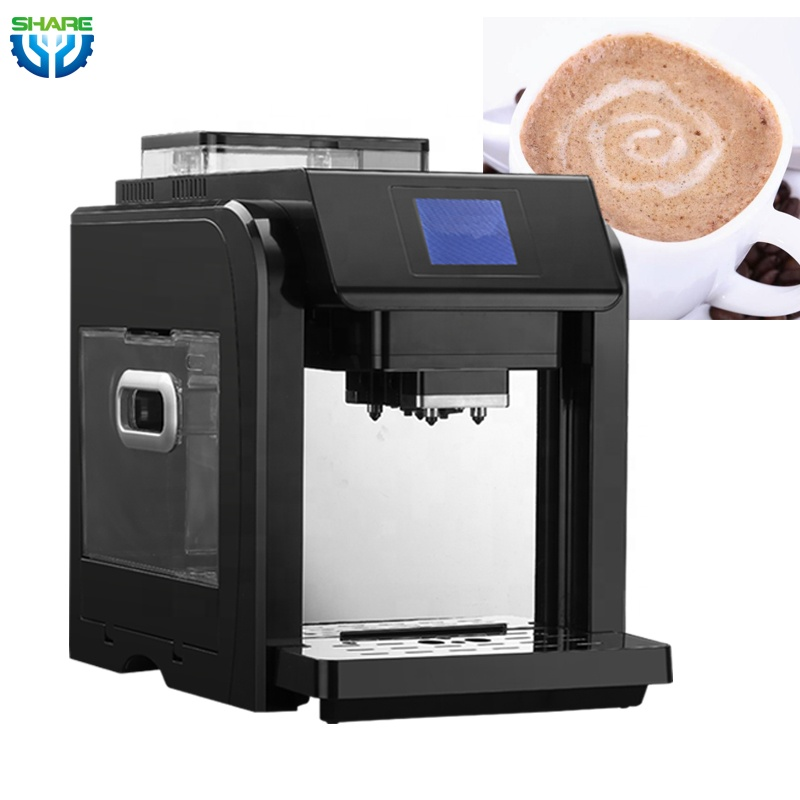 Full Automatic Instant Office Home Coffee Cup Machine with Grinder