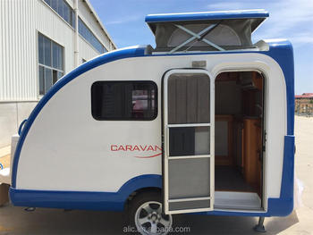 Fiberglass Pop Up Top Caravan Camper Trailer Buy Caravan