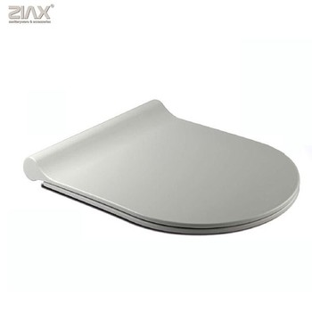 New Slim Design Toilet Seat Cover Ease Clean And Change Quiet Close UF Toilet  Seat Cover Part 36