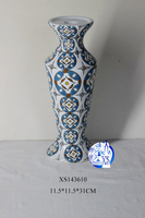Saturated color porcelain ceramic material decorative candle holder