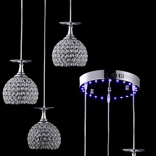 Crystal Hanging Pendant Lights For Sale