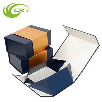 Custom Paper Package Cardboard Magnetic Folding Box Template