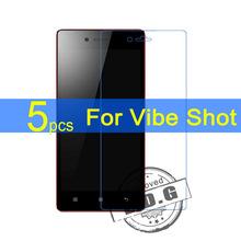 5pcs Ultra Clear LCD Screen Protector Film Cover For Lenovo Vibe Max Z90 Vibe S Z90-3 Z90-7 Vibe Shot Film  +  cloth