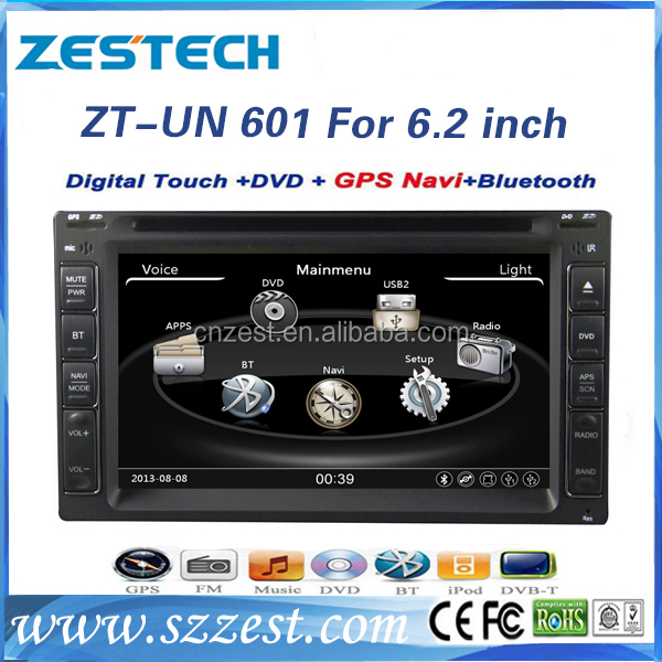 Newest win ce system car dvd player for universal car dvd gps navigation with BT,digital TV