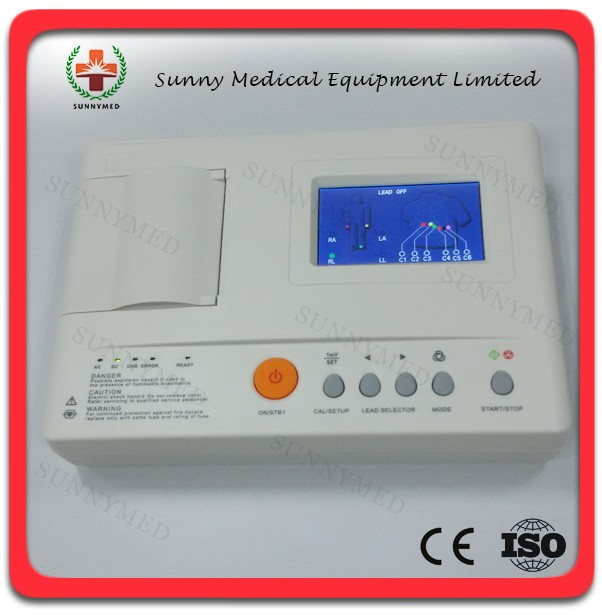 SY-H002 single channel Medical hospital ECG price
