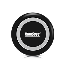 KingSpec WPC01 2018 Newest Popular 10w Qi Certified Desktop Mini Universal Qi Wireless Charger Fast Charging Pad for Cell Phone