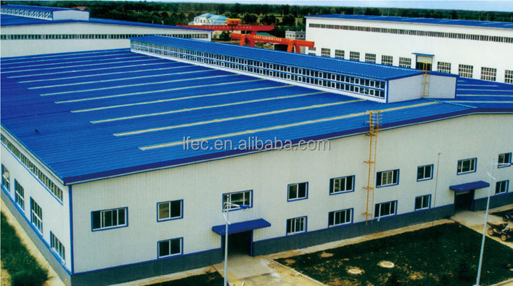 High Quality Good Security Steel Construction Factory Building
