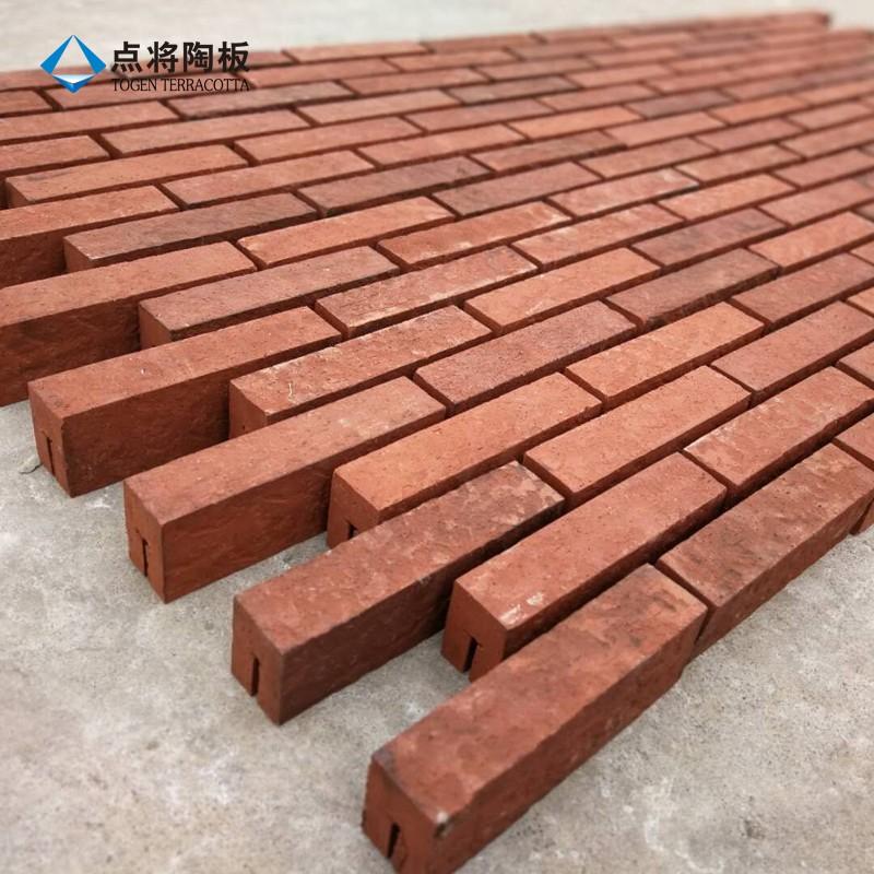 Fireproof Terracotta Clay Ceramic Brick Tiles For Wall Buy Ceramic Brick Tiles For Wall Ceramic Brick Terracotta Brick Product On Alibaba Com