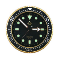 "good quality clock brand-new design wall clock 12"" wall watch"