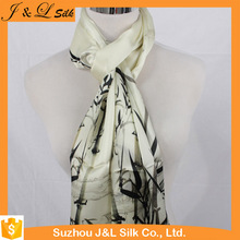 Silk scarf square custom digital print and shawl