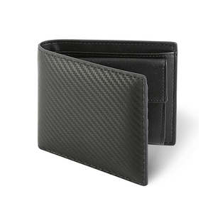 Hot selling waterproof carbon fiber men's wallet for card, cash and coins